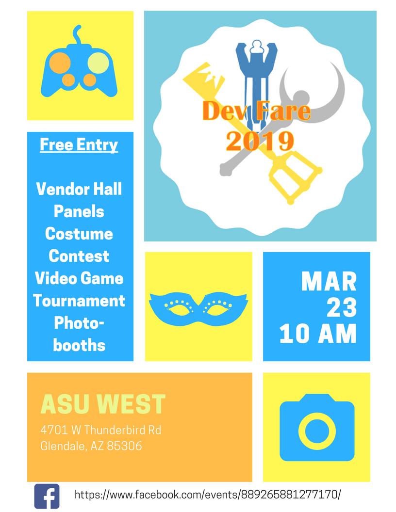 Asu Calendar Fall 2019 Dev Fare 2019 | ASU Events