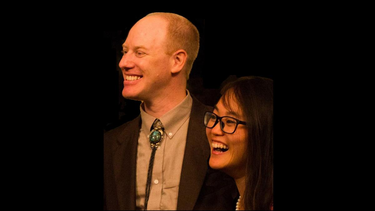 Photo of Elias-Axel Pettersson and Jessica Yam