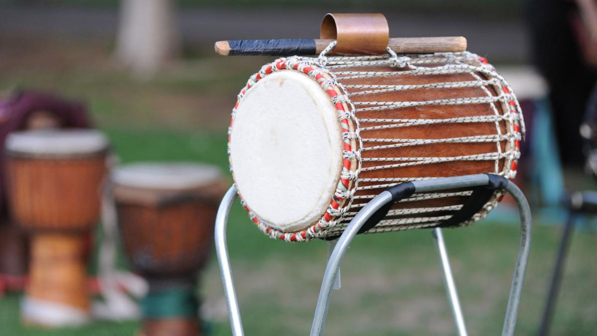 Stock photo of African-style drums