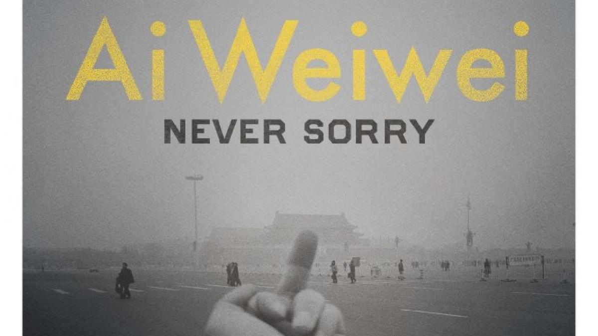 Movie Poster For Ai Weiwei Never Sorry