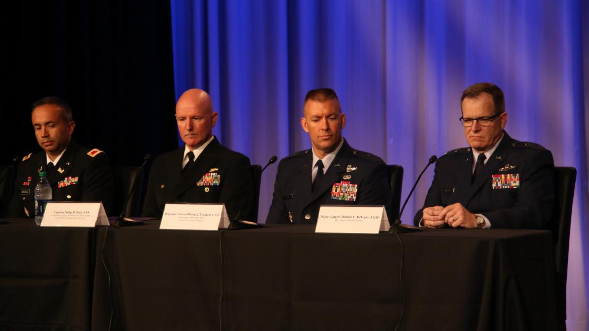 Salute To Service Panel Discussion U S Military The