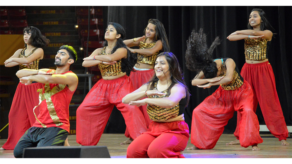 Performers at Culture Fest