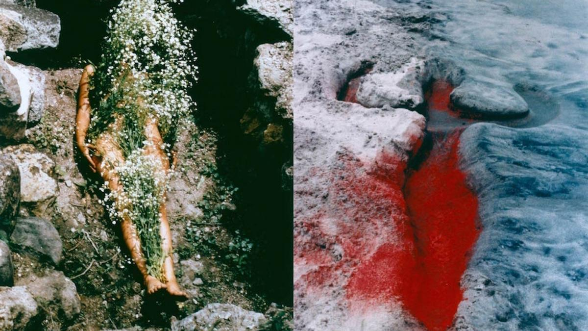 Ana Mendieta Energy Charge includes several iconic pieces by the artist
