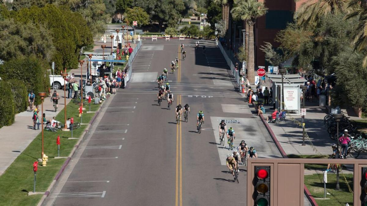 ASU bike race