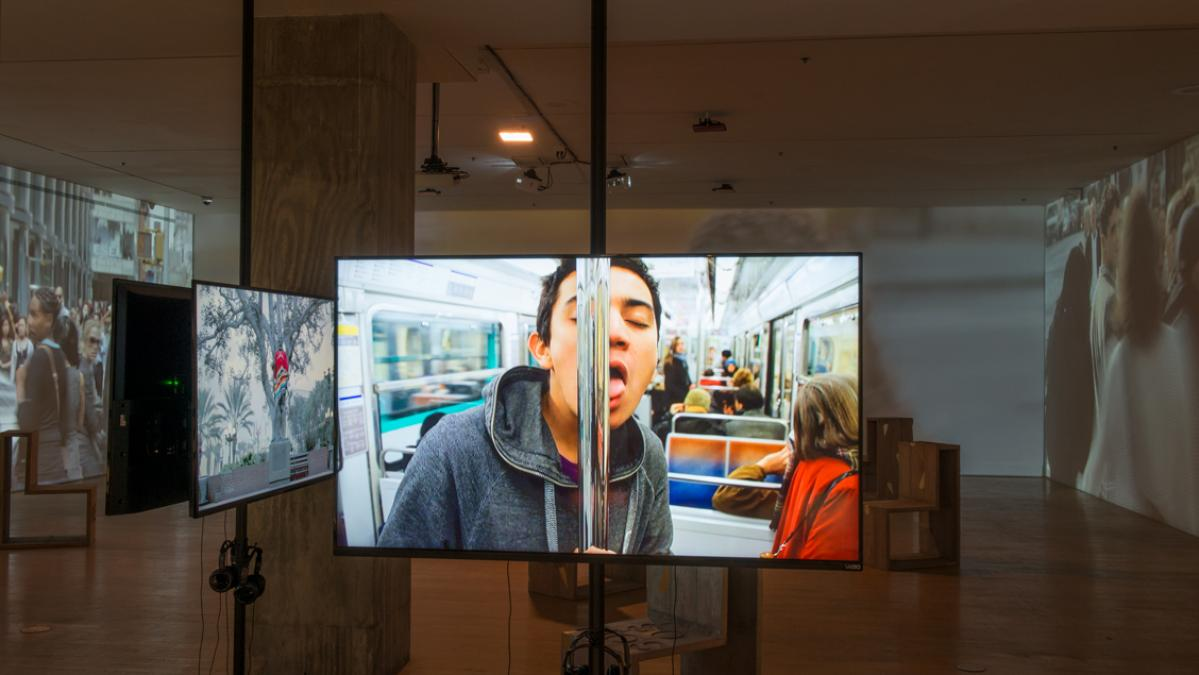 "Image credit: Installation view, ""Juntos Together: Iván Argote,"" Aug. 2019 – Jan. 2020, Arizona State University Art Museum, Photo by Craig Smith."