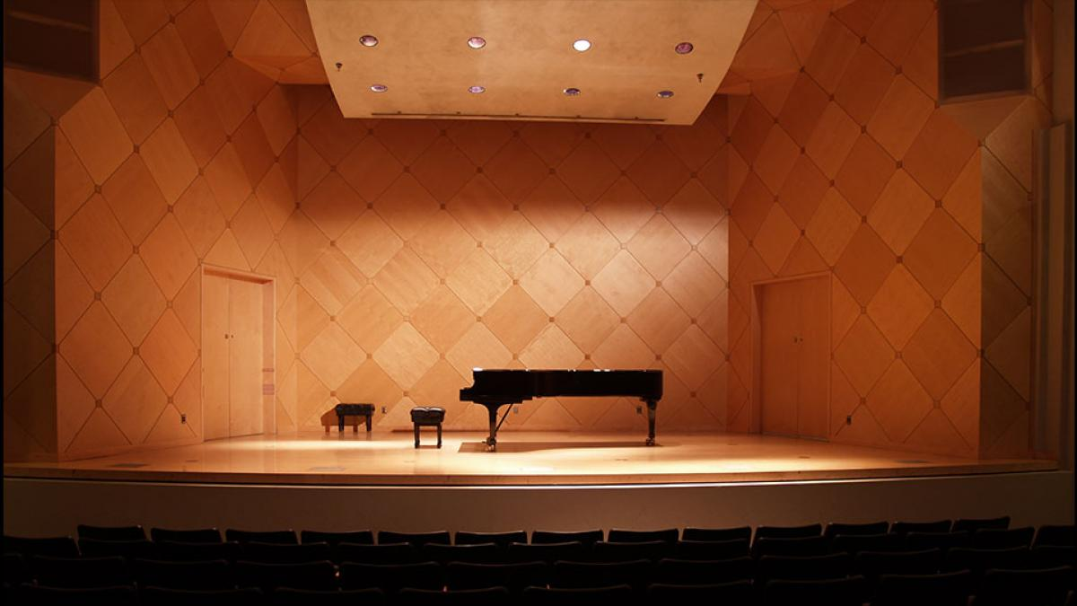 Photo of Katzin Concert Hall
