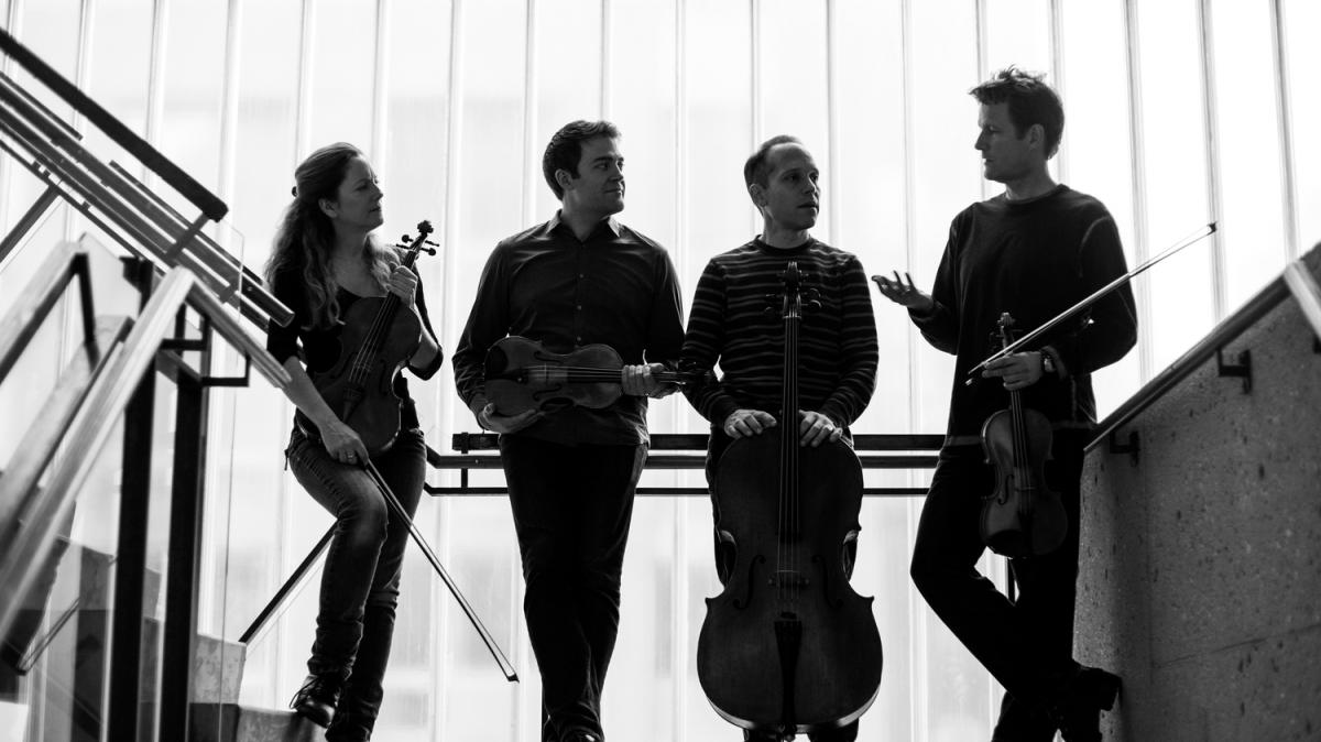Photo of the St. Lawrence String Quartet