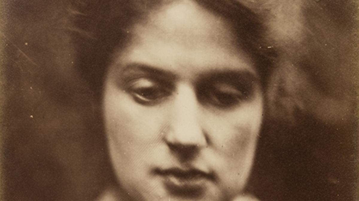 Marie Spartali c.1870 by Julia Margaret Cameron