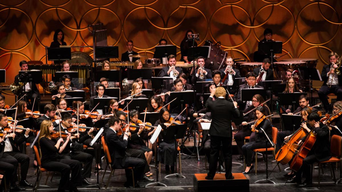 Stock photo of the ASU Symphony Orchestra - November 2019