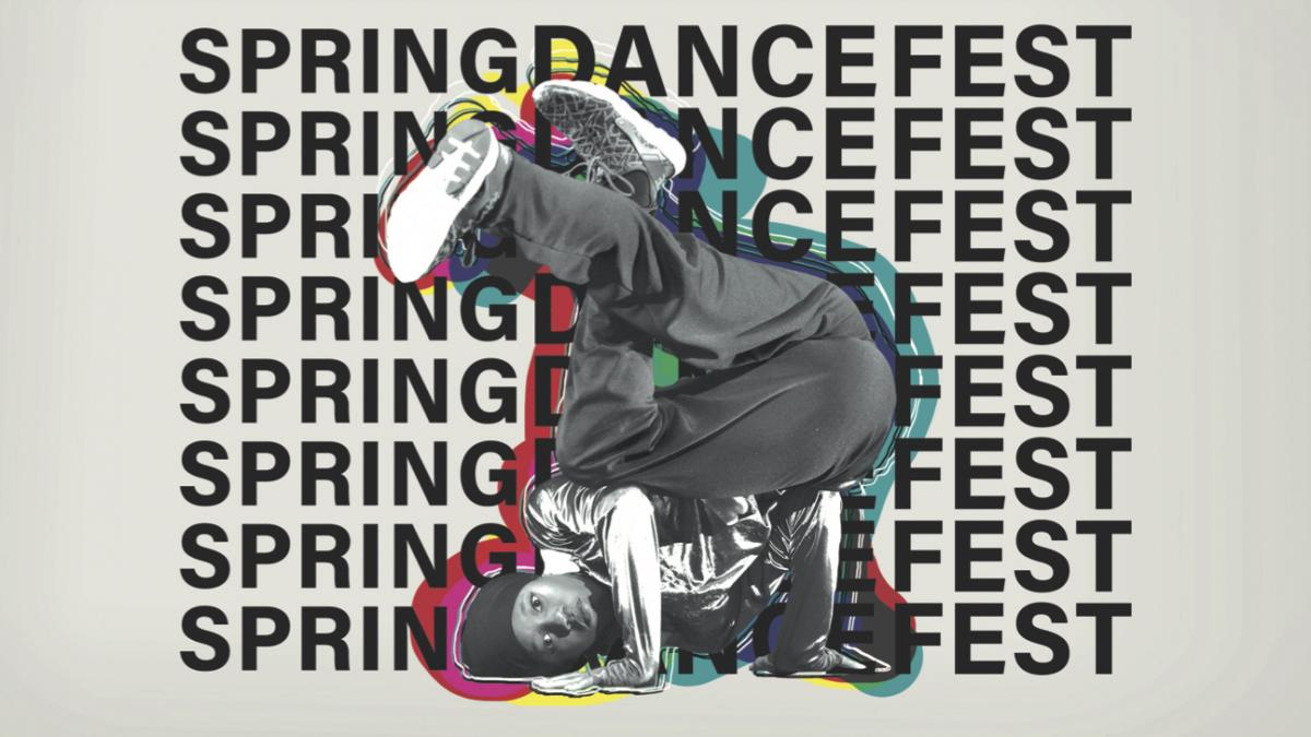 poster image for spring dance fest