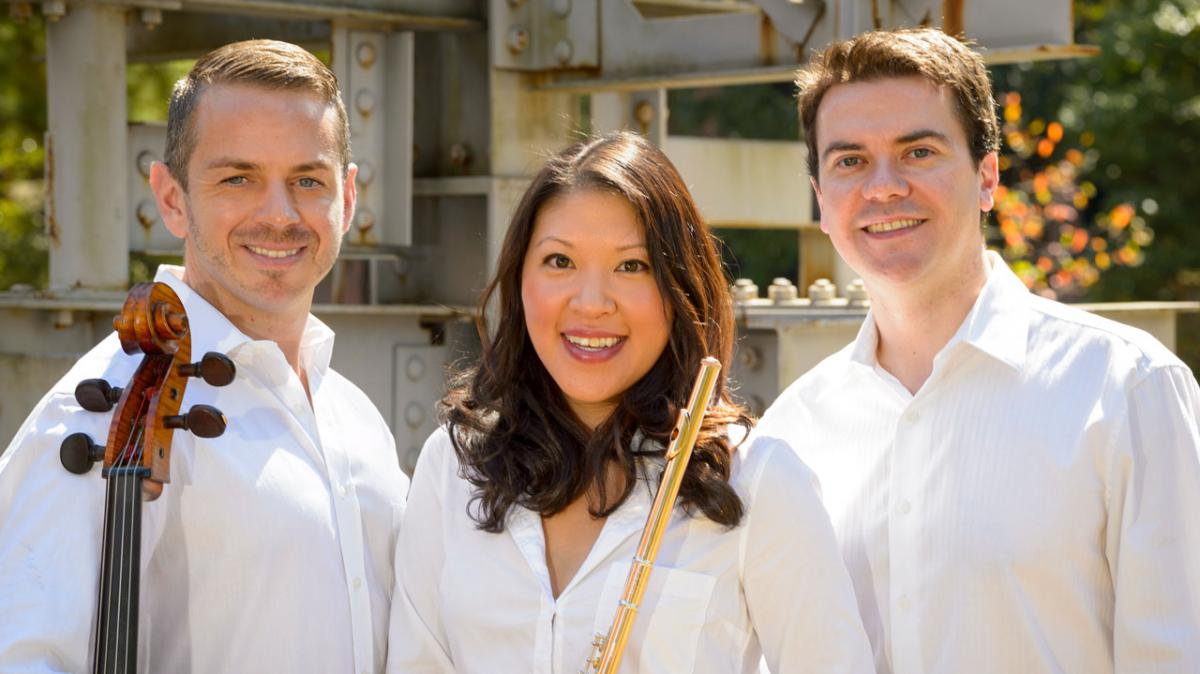 From left: Gerald Peregrine, Sabrina Hu, Cathal Breslin
