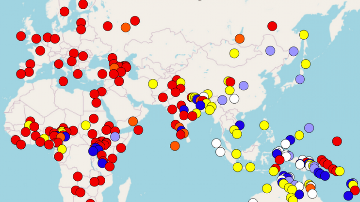Image of a world atlas of language structures